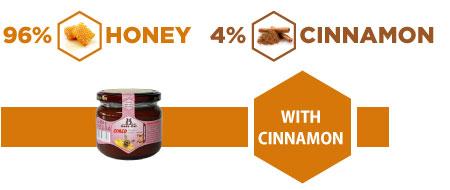 Cimedo honey with cinnamon