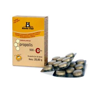Lozenges with propolis