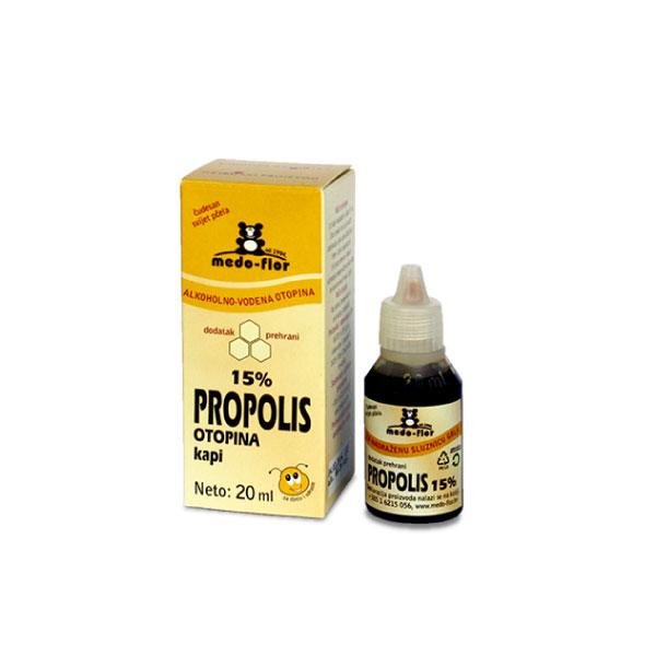 Propolis drops