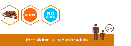 Propolis extract without alcohol, for children