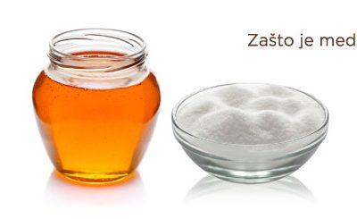 Zašto je med bolji od šećera